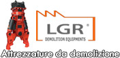 LGR Demolition equipment